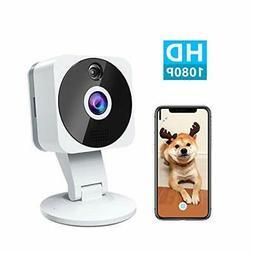 Wireless Smart Home Camera, 1080p HD Indoor 2.4G IP Security
