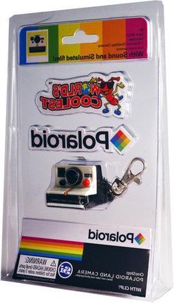 World's Coolest Miniature Polaroid Keychain Clip - Novelty T