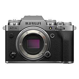 Fujifilm X-T4 Mirrorless Camera Body - Silver