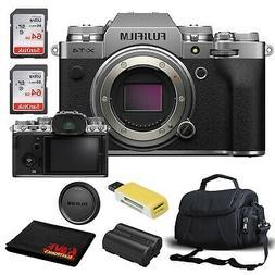FUJIFILM X-T4 Mirrorless Digital Camera  Accessory Kit