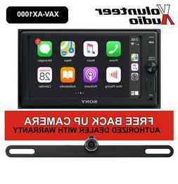 Sony XAV-AX1000 Touchscreen Media Receiver with FREE Backup