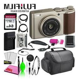 Fujifilm XF10 Point and Shoot Digital Camera  Budget Bundle