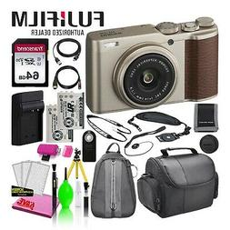 Fujifilm XF10 Point and Shoot Digital Camera  Deluxe Bundle