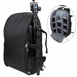 XL Large Muti-function Waterproof Camera Backpack Bag USB Po