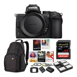 Nikon Z 50 Mirrorless Camera with 32GB Card, Bag, Software a