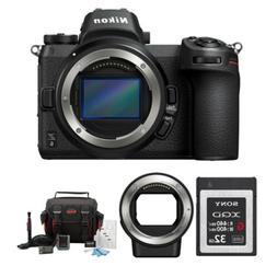 Nikon Z6 Mirrorless Digital Camera  with XQD Accessory Bundl